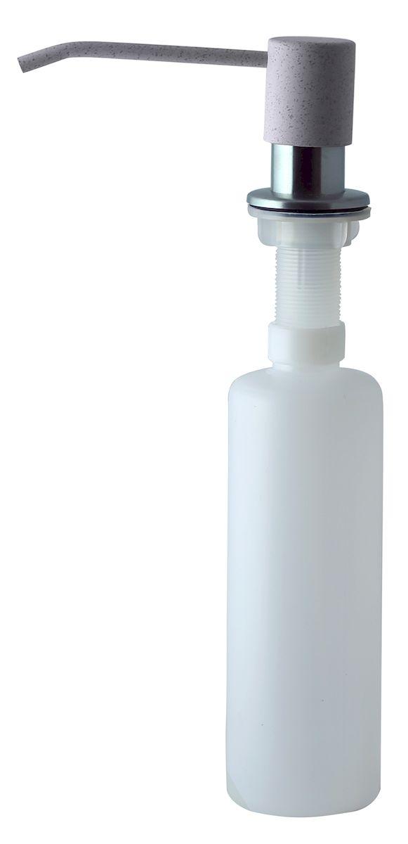 Дозатор для моющего средства Zigmund & Shtain, встраиваемый, цвет: осенняя трава, 300 мл68/5/3Диспенсер для моющего средства позволяет с помощью лёгкого нажатия получать необходимое количество жидкости для мытья посуды. Дозатор освобождает пространство столешницы вокруг мойки от бутылочек с моющим средством и делает кухню удобной и красивой. Встраиваемый диспенсер устанавливается в столешницу или кухонную мойку.Корпус емкости под моющее средство и трубка подачи моющего средства выполнены из пластика, что исключает возможность коррозии и разъедания любым моющим средством, применяемым в быту. Диспенсер легко заполняется моющим средством сверху.Объем: 300 мл.Угол поворота: 360°.Диаметр врезного отверстия: 35 мм. Данный диспенсер подходит к кухонной мойке Zigmund & Shtain цвета осенняя трава.