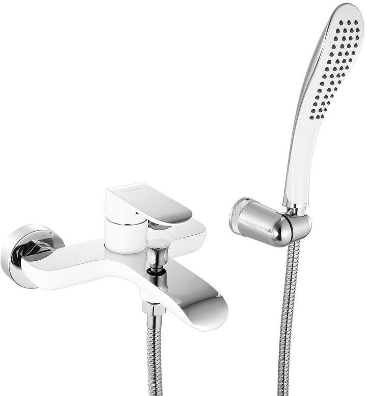 Смеситель для ванны Iddis Calipso, цвет: белый, хром. CALSB00i02CALSB00i02Смеситель для ванны IDDIS изготовлен из высококачественной первичной латуни, прочной, безопасной и стойкой к коррозии. Инновационные технологии литья и обработки латуни, а также увеличенная толщина стенок смесителя обеспечивают его стойкость к перепадам давления и температур. Увеличенное никель-хромовое покрытие полностью соответствует европейским стандартам качества, обеспечивает его стойкость и зеркальный блеск в течение всего срока службы изделия. Благодаря гладкой внутренней поверхности смесителя, рассекателям в водозапорных механизмах и аэратору он имеет минимальный уровень шума. Ручная фиксация дивертора позволяет комфортно принимать душ даже при низком давлении воды. Смеситель оборудован картриджем Kerox со специальной встроенной системой шумопоглощения, который обеспечивает долгий срок службы смесителя. Съемный пластиковый аэратор Neoperl гарантирует ровный и мягкий поток воды без брызг. Встроенный ограничитель потока оптимизирует расход воды без потери...