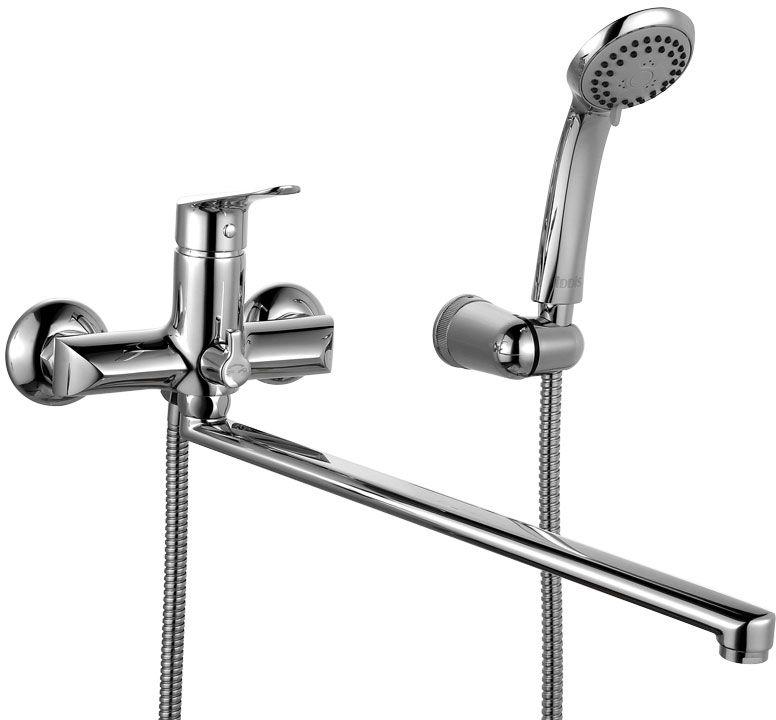Смеситель для ванны Iddis Custo, с длинным изливом, с керамическим дивертором, цвет: хром. CUSSBL2i10CUSSBL2i10Смеситель для ванны IDDIS изготовлен из высококачественной первичной латуни, прочной, безопасной и стойкой к коррозии. Инновационные технологии литья и обработки латуни, а также увеличенная толщина стенок смесителя обеспечивают его стойкость к перепадам давления и температур. Увеличенное никель-хромовое покрытие полностью соответствует европейским стандартам качества, обеспечивает его стойкость и зеркальный блеск в течение всего срока службы изделия. Благодаря гладкой внутренней поверхности смесителя, рассекателям в водозапорных механизмах и аэратору он имеет минимальный уровень шума. Смеситель оборудован керамическим дивертором, чей сверхнадежный механизм обеспечивает плавное и мягкое переключение с излива на душ, а также непревзойденную надежность при любом давлении воды. Смеситель оборудован картриджем Kerox со специальной встроенной системой шумопоглощения, который обеспечивает долгий срок службы смесителя. Съемный пластиковый аэратор Neoperl гарантирует...