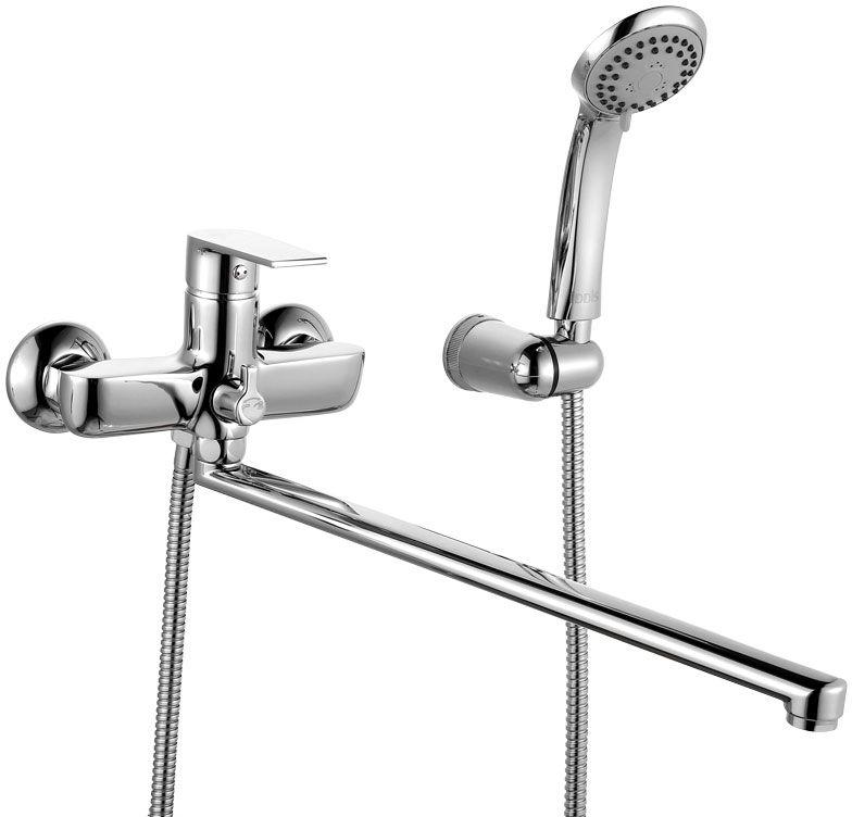 Смеситель для ванны Iddis Edifice, с длинным изливом, с керамическим дивертором, цвет: хром. EDISBL2i10EDISBL2i10Смеситель для ванны IDDIS изготовлен из высококачественной первичной латуни, прочной, безопасной и стойкой к коррозии. Инновационные технологии литья и обработки латуни, а также увеличенная толщина стенок смесителя обеспечивают его стойкость к перепадам давления и температур. Увеличенное никель-хромовое покрытие полностью соответствует европейским стандартам качества, обеспечивает его стойкость и зеркальный блеск в течение всего срока службы изделия. Благодаря гладкой внутренней поверхности смесителя, рассекателям в водозапорных механизмах и аэратору он имеет минимальный уровень шума. Смеситель оборудован керамическим дивертором, чей сверхнадежный механизм обеспечивает плавное и мягкое переключение с излива на душ, а также непревзойденную надежность при любом давлении воды. Смеситель оборудован картриджем Kerox со специальной встроенной системой шумопоглощения, который обеспечивает долгий срок службы смесителя. Съемный пластиковый аэратор Neoperl гарантирует...