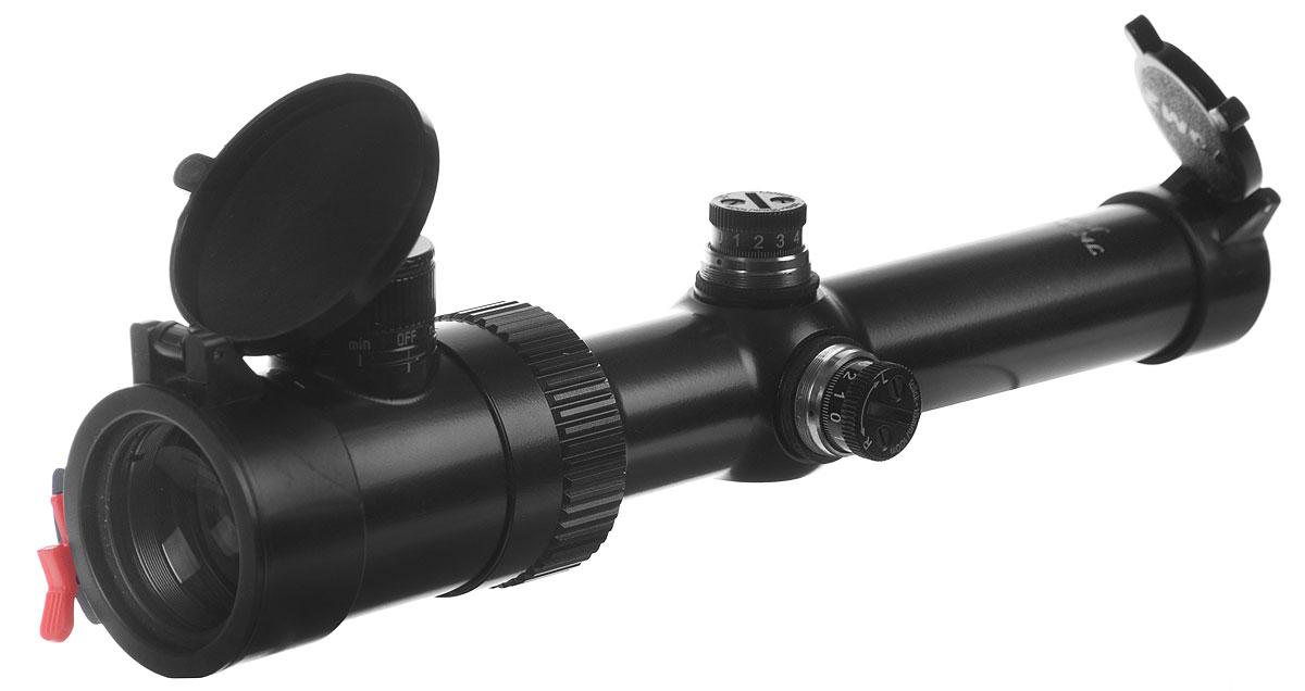 Прицел оптический Pilad, PV 1,2-6х24LKG5525Оптический прицел Pilad удобен для стрельбы при рассветно-сумеречном освещении или при стрельбе по целям на сложном фоне. Кратность, плавно изменяемая в диапазоне от 1,2 до 6, позволяет использовать прицел для поиска и выслеживания дичи, загонной охоты (дальность стрельбы до 100-150 м) или охоты с подхода, для стрельбы по малоразмерным объектам. Особенности и преимущества: По удобству применения это сравнимо с коллиматорными прицелами, при этом сохраняются все достоинства прицелов с большой кратностью увеличения. Прицельная сетка располагается в окулярной фокальной плоскости прицела, поэтому при изменении кратности ее размер не меняется. Пыле-брызгозащищен. Прицельная марка с подсветкой центральной точки, интенсивность свечения регулируется (9 степеней яркости). Барабанчики ввода поправок с защитными колпачками и установкой настроек в положение 0, шаг выверки – 1/7 (14 мм на каждые 100 м). Плавное изменение увеличения позволяет...
