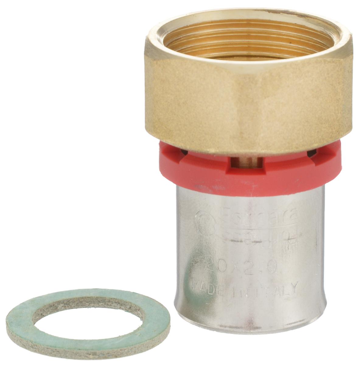 Соединитель Fornara, под пресс, п - нг, 20 x 3/430636Соединитель под пресс Fornara представляет собой элемент трубопровода, обеспечивающий соединение труб из разных материалов с компонентами системы. Изделие имеет переход на наружную резьбу, прочный, долговечный корпус из никелированной горячепрессованной латуни. Благодаря специальным насечкам уплотнительный материал соединителя хорошо удерживается при монтаже трубопроводной системы.