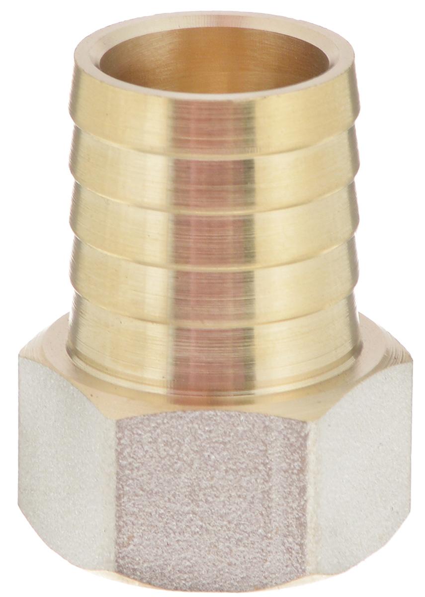 Переходник U-Tec, для резинового шланга, внутренняя резьба 1/2 х 20 мм68/5/2Переходник U-Tec предназначен для соединения резьбовых соединений с резиновым шлангом. Изделие изготовлено из прочной и долговечной латуни. Никелированное покрытие на внешнем корпусе защищает изделие от окисления. Продукция под торговой маркой U-Tec прошла все необходимые испытания и по праву может считаться надежной.Размер ключа: 24 мм.