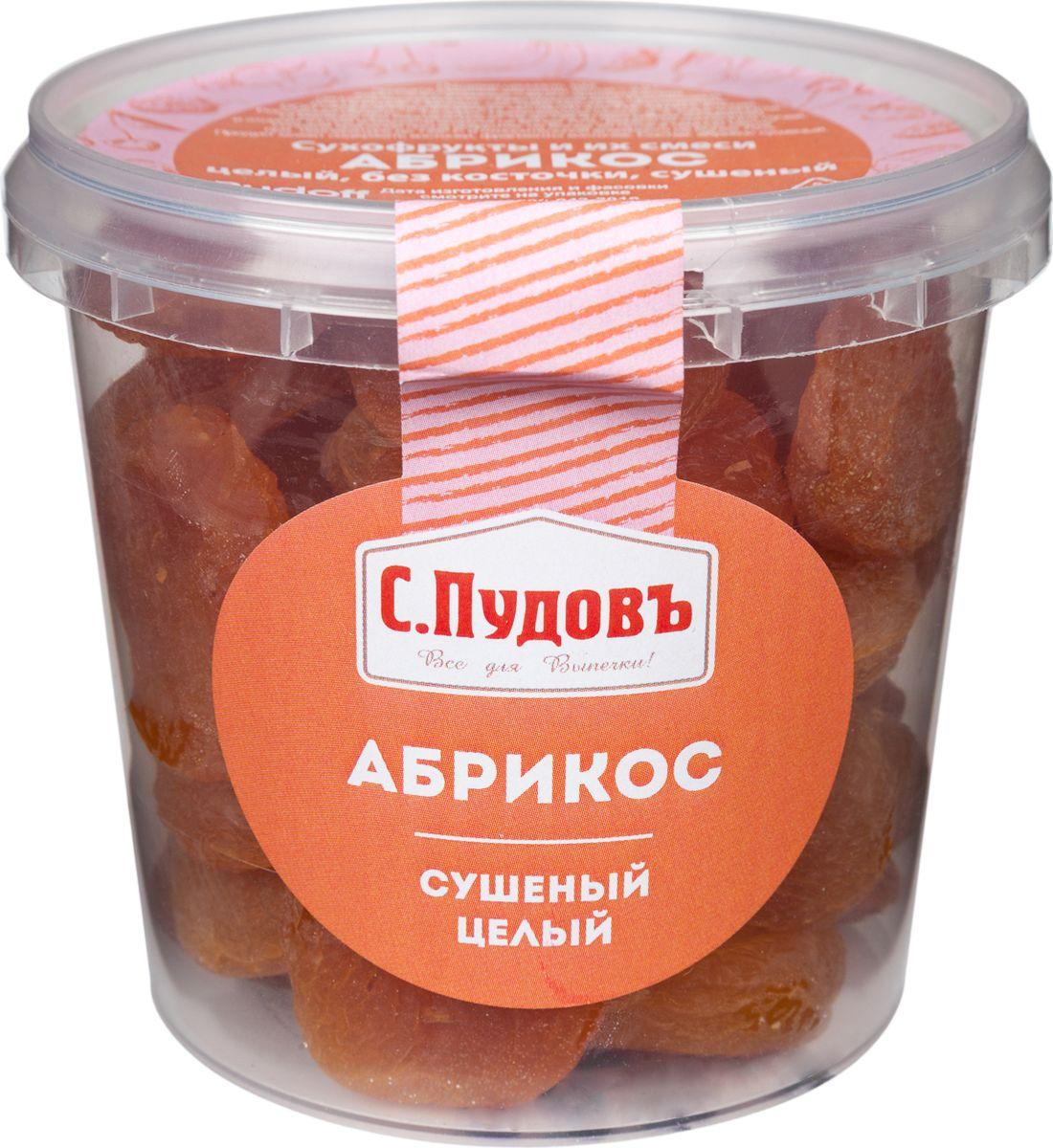 Пудовъ абрикос сушеный целый, 250 г4607012297624Сушеные абрикосы от торговой марки С. Пудовъ обладают высокими вкусовыми качествами, быстро утоляют чувство голода, обогащают организм витаминами и микроэлементами. Это не только очень вкусный, но и необыкновенно полезный продукт.