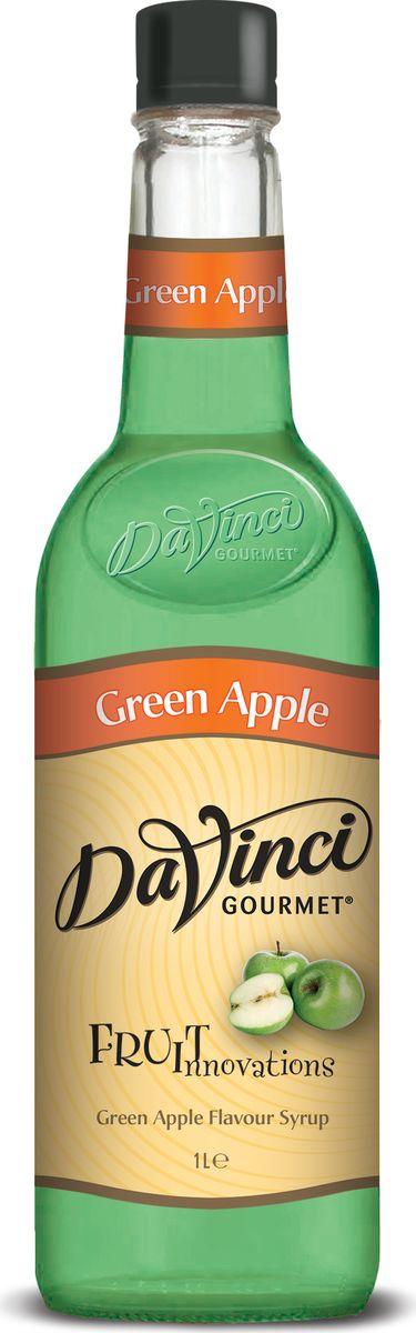 DaVinci Зеленое яблоко сироп, 1 л20393758Компания DaVinci Gourmet родилась в самой гуще зарождающейся кофейной культуры - в американском Сиэтле в 1989 году. Целью бренда было поддержать развитие кофейной индустрии, подогреть интерес общественности к новому тренду. DaVinci Gourmet создала абсолютно новую линейку ароматизированных сиропов и соусов, чью популярность до сих пор не удалось превзойти ни одной марке. Аромат яблочного желе, во вкусе - яблочное повидло. Идеально подходит для кофейных напитков с содержанием молока и сливок, чая, десертов, лимонадов, безалкогольных и алкогольных коктейлей.