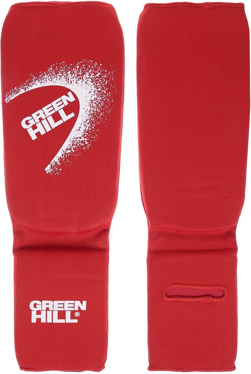 Защита голени и стопы Green Hill, цвет: красный, белый. Размер XL. SIC-6131SIC-6131Защита голени и стопы Green Hill с наполнителем, выполненным из вспененного полимера, необходима при занятиях спортом для защиты пальцев и суставов от вывихов, ушибов и прочих повреждений. Накладки выполнены из высококачественного полиэстера и хлопка. Длина голени: 27 см. Ширина голени: 15 см. Длина стопы: 15 см. Ширина стопы: 11,5 см.