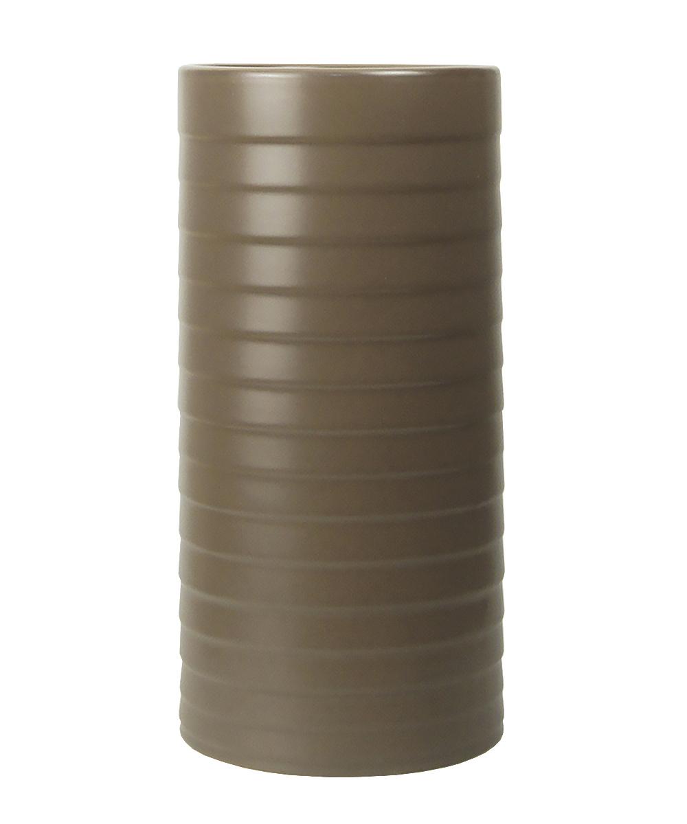 Ваза Этажерка Madrid, цвет: коричневый, высота 30 смTS1115-H30Ваза Этажерка Madrid выполнена из высококачественной керамики и имеет изысканный внешний вид. Такая ваза станет идеальным украшением интерьера и прекрасным подарком к любому случаю. Высота вазы: 30 см.