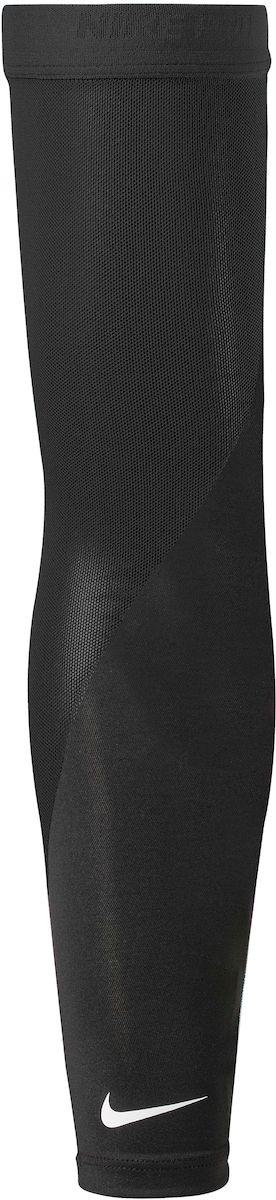 Нарукавник для бега Nike Pro Perf Arm Sleeves, цвет: черный, белый. Размер XS/SAIRWHEEL Q3-340WH-BLACK- Материал Dri-Fit обеспечивает сухость и комфорт.- Эластичная резинка Nike Pro обеспечивает надежную посадку.- Отверстия для большого пальца для улучшенной посадки.- Термо-перенос Swoosh-лого.- Сетчатый материал, расположен в стратегически нужных местах.- В комплекте 2 нарукавника.