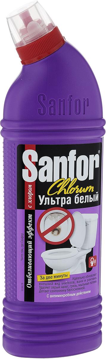 Средство для чистки ванн и унитазов Sanfor Chlorum, с хлором, 750 мл4602984004584Специальная формула Sanfor Chlorum с содержанием хлора в допустимых количествах одинаково хорошо подходит для чистки ванн и унитазов. Эффективно удаляет серый налет, въевшуюся грязь, мыльные потеки. Мгновенно, без длительных выдерживаний придает поверхностям первоначальную белизну. Благодаря загущенной формуле равномерно распределяется и не стекает с наклонных поверхностей. Можно использовать для чистки душевых кабин, раковин, керамической плитки, настенных панелей, напольных покрытий. Обладает антимикробными свойствами. Хлор – наиболее эффективное дезинфицирующее вещество. Состав: 5 % или более, но менее 15 % - гипохлорит натрия (калия), менее 5 % - АПАВ и НПАВ, мыло на основе натуральных жирных кислот, щелочь, ароматизатор. Товар сертифицирован.