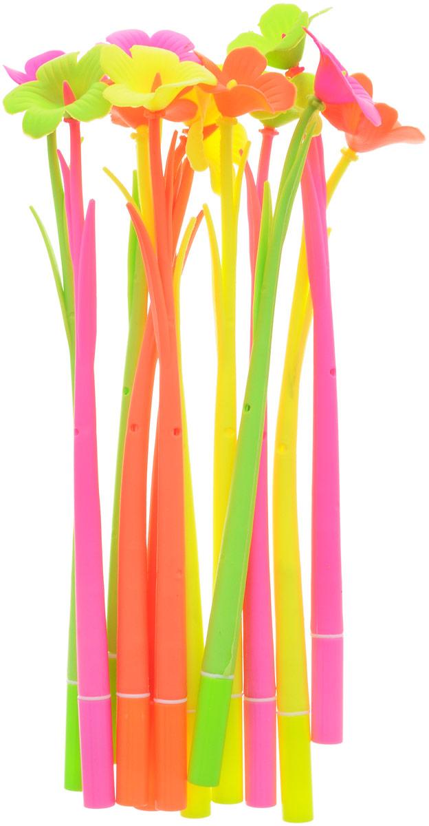 Эврика Ручки мягкие 12 шт 9619272523WDОригинальные шариковые ручки выполнены из мягкого полимера в виде симпатичных цветочков. Ручки могут гнуться в разные стороны. Гибкие, удобные ручки с нескользящим корпусом, шариковым пишущим стержнем и удивительным флористическим дизайном вдохновят свежестью формы каждого обладателя. Ручки с синими чернилами и компактными пластиковыми колпачками. Такая ручка станет отличным подарком и незаменимым аксессуаром, она удивит и порадует получателя. Сотрудниц, родных, знакомых и любимых девушек можно радовать целыми букетами, составленными из ручек с разным декором. В наборе присутствуют ручки четырех цветов: розовый, желтый, оранжевый, салатовый.