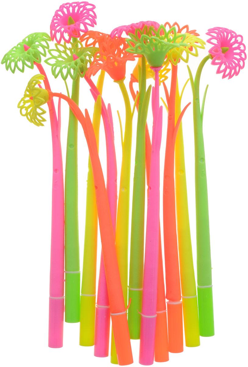 Эврика Ручки мягкие 12 шт 9618296182Оригинальные шариковые ручки Эврика выполнены из мягкого полимера в виде симпатичных цветочков. Ручки могут гнуться в разные стороны. Гибкие, удобные ручки с нескользящим корпусом, шариковым пишущим стержнем и удивительным флористическим дизайном вдохновят свежестью формы каждого обладателя. Ручки с синими чернилами и компактными пластиковыми колпачками. Такая ручка станет отличным подарком и незаменимым аксессуаром, она несомненно, удивит и порадует получателя. Сотрудниц, родных, знакомых и любимых девушек можно радовать целыми букетами, составленными из ручек с разным декором.