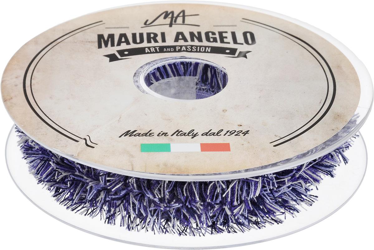 Лента декоративная Mauri Angelo, цвет: сиреневый, белый, черный, 1,7 см х 10 мMR8944EL/PL/3Декоративная лента Mauri Angelo выполнена из высококачественных материалов. Кружево применяется для отделки одежды, постельного белья, а также в оформлении интерьера, декоративных панно, скатертей, тюлей, покрывал. Главные особенности кружева - воздушность, тонкость, эластичность, узорность. Такая лента станет незаменимым элементом в создании рукотворного шедевра.