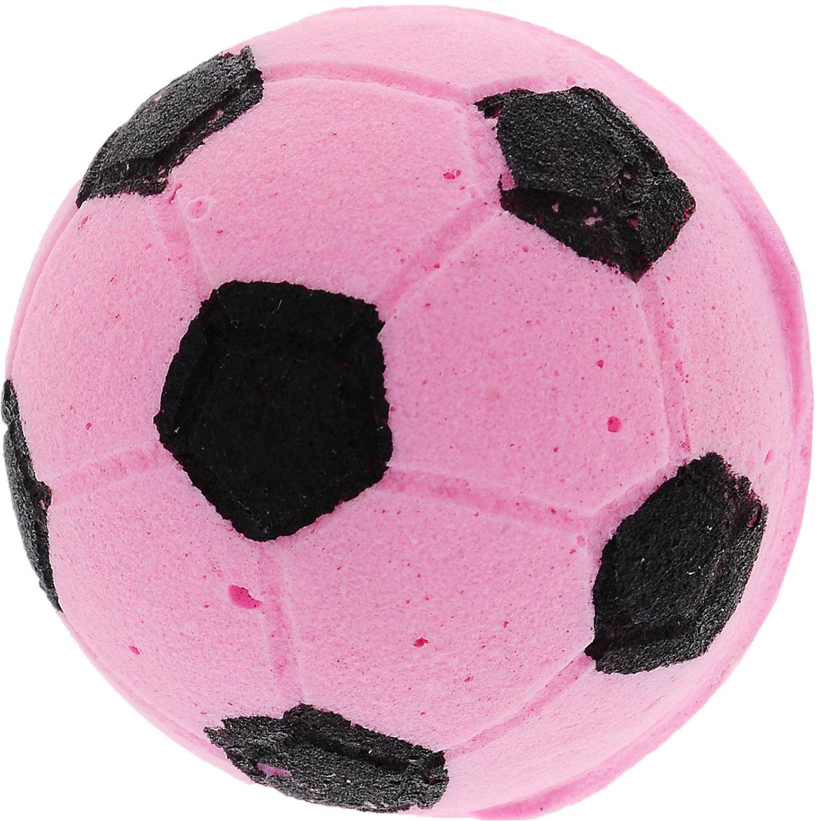 Игрушка для животных Каскад Мячик зефирный. Футбольный, цвет: розовый, диаметр 4,5 см27799305_розовыйИгрушка для животных Каскад Мячик зефирный. Футбольный, изготовленная из мягкого и прочного материала, обязательно понравится вашему питомцу. Подойдет для собак мелких пород и кошек. Изделие отличается прочностью и в то же время гибкостью и эластичностью, имеет необычную структуру, напоминающую зефир. Необычная и забавная игрушка прекрасно подойдет для игр вашего любимца.
