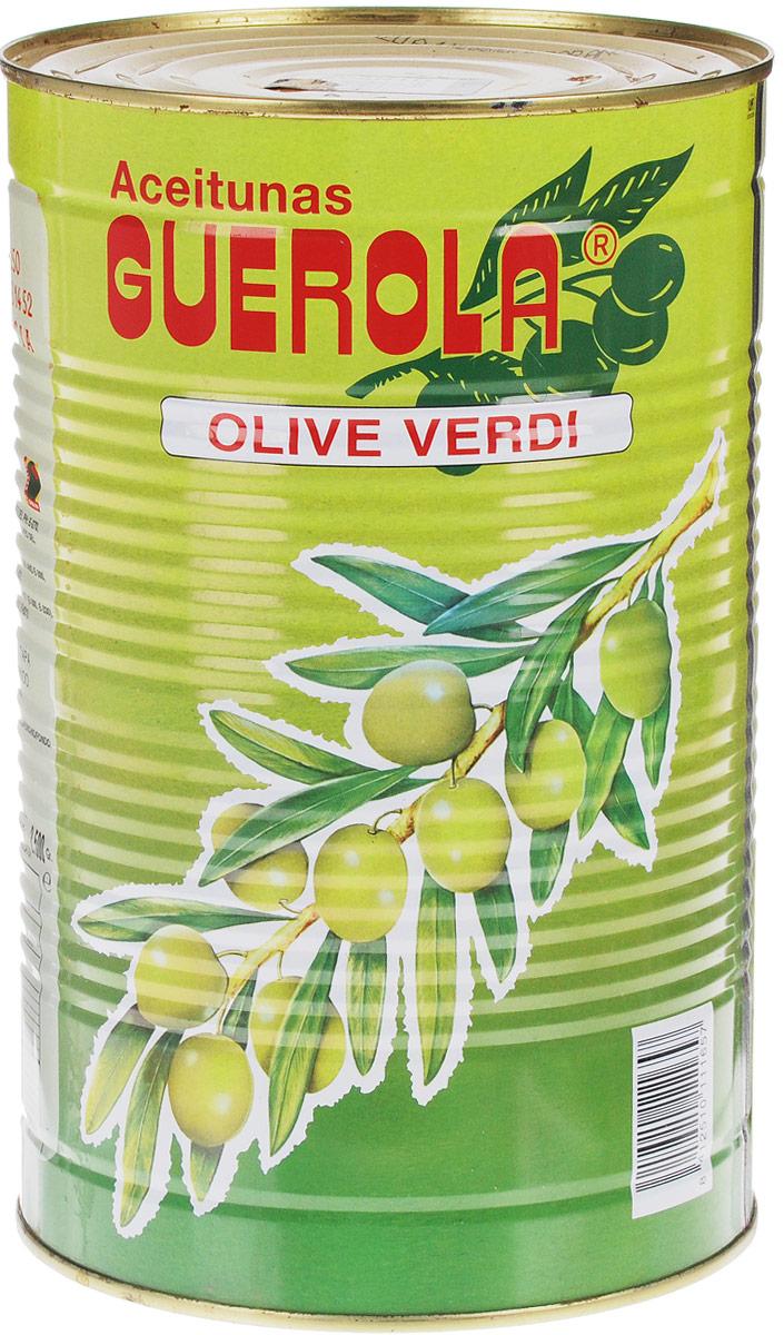 Guerola оливки зеленые сорта Manzanilla с косточкой со вкусом анчоуса, 4,45 кг8412510111657Оливки зеленые Guerola сорта Manzanilla с косточкой со вкусом анчоуса. Чистый вес продукта 2,5 кг. Один из самых популярных столовых сортов оливок. Плоды обладают особым, насыщенным вкусом и плотной структурой. Этот вид можно использовать в салатах, как аперитив, с вермутом, когда в него добавляют немного льда и одну оливку, также в закусках и других блюдах.