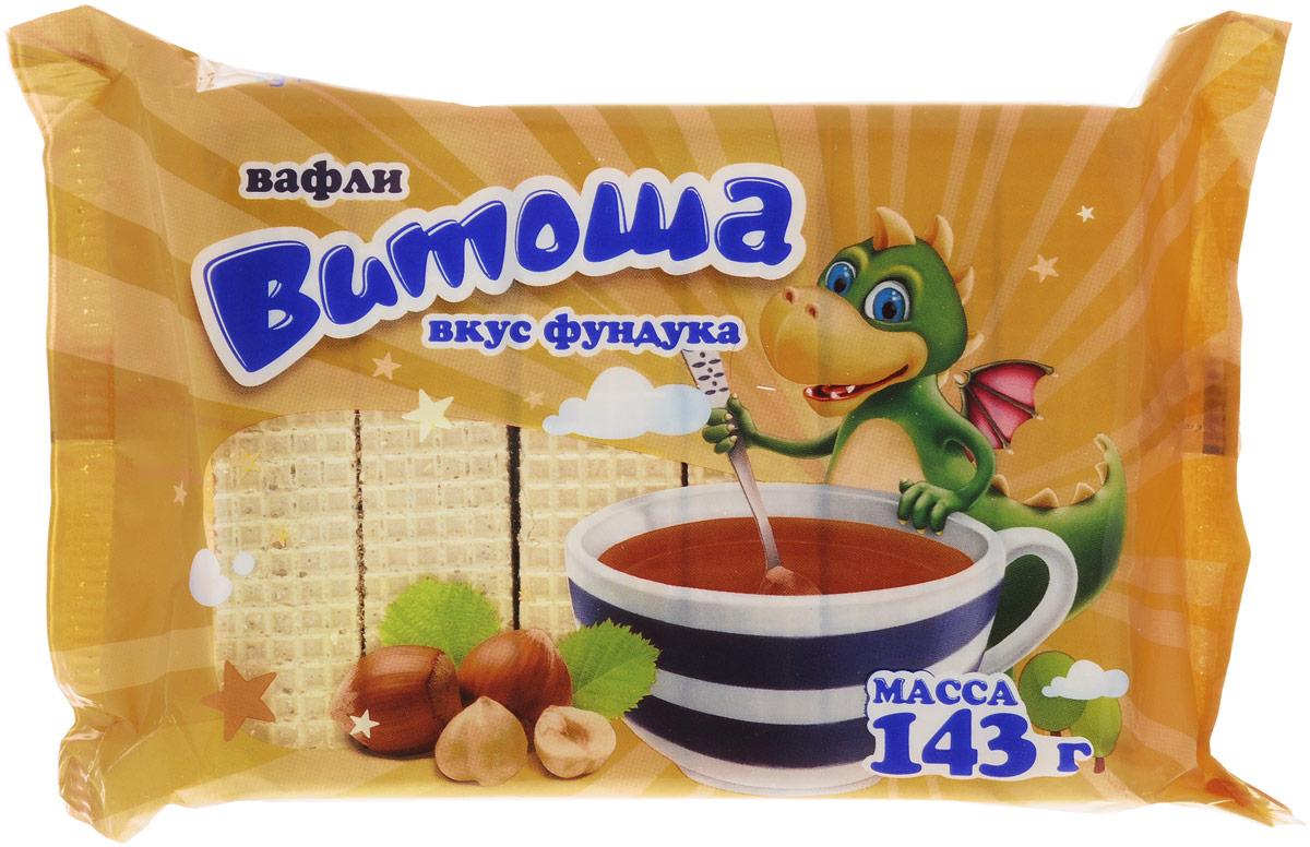 """Витьба Вафли """"Витоша"""" со вкусом фундука, 143 г 699"""