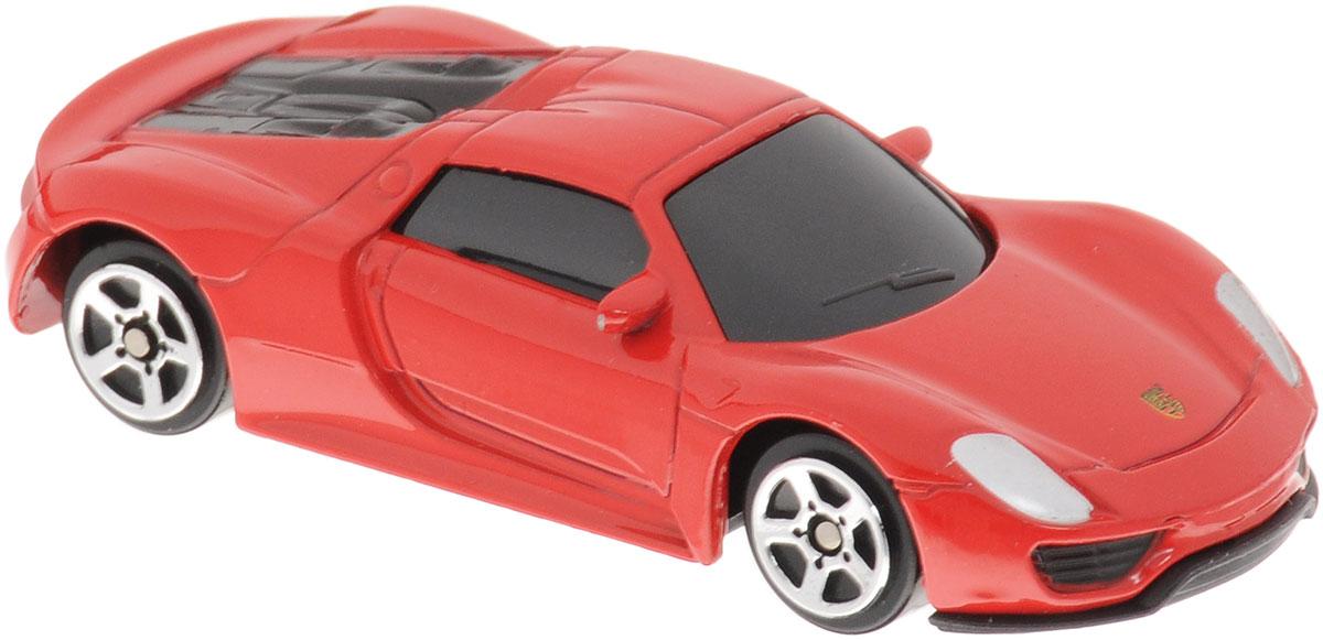 Uni-Fortune Toys Модель автомобиля Porsche 918 Spyder цвет красный