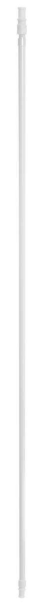 Карниз однорядный Эскар Калифорния, металлический, телескопический, цвет: белый, диаметр 12 мм, длина 85-135 см9000812135Круглый карниз Эскар Калифорния выполнен из металла. Подходит для использования одного вида занавесей. Поверхность гладкая. Крепление производится на раму, при помощи держателей на двухсторонний скотч или саморезы. В комплект входят: карниз, 2 коротких кронштейна, 2 длинных кронштейна, 8 саморезов, 4 полоски двухстороннего скотча. Такой карниз будет органично смотреться в любом интерьере. Диаметр карниза: 12 мм.