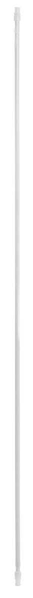 Карниз однорядный Эскар Калифорния, металлический, телескопический, цвет: белый, диаметр 12 мм, длина 135-225 см9000812225Круглый карниз Эскар Калифорния выполнен из металла. Подходит для использования одного вида занавесей. Поверхность гладкая. Крепление производится на раму, при помощи держателей на двухсторонний скотч или саморезы. В комплект входят: карниз, 2 коротких кронштейна, 2 длинных кронштейна, 8 саморезов, 4 полоски двухстороннего скотча. Такой карниз будет органично смотреться в любом интерьере. Диаметр карниза: 12 мм.