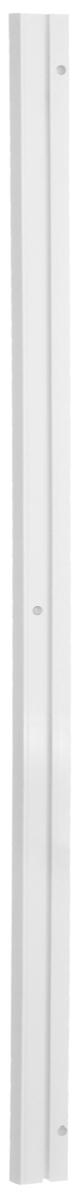 Карниз шинный Эскар, однорядный, с аксессуарами, цвет: белый, длина 1,2 м270008120Однорядный шинный карниз Эскар, выполненный из пластика белого цвета, подходит для штор любого типа. Такой вид карнизов прост по конструкции (шины и бегунки) и будет практически не заметен. Способ крепления таких карнизов, в основном, потолочный. Помимо практичности, шинный карниз обладает рядом других преимуществ: при открытии и закрытии штор он создает минимум шума. Такой карниз также является водостойким, что позволяет использовать его в ванной комнате и на балконе. Он подойдет для любых видов штор, за исключением очень тяжелых тканей. В комплекте - карниз, 12 крючков, аксессуары для крепления.