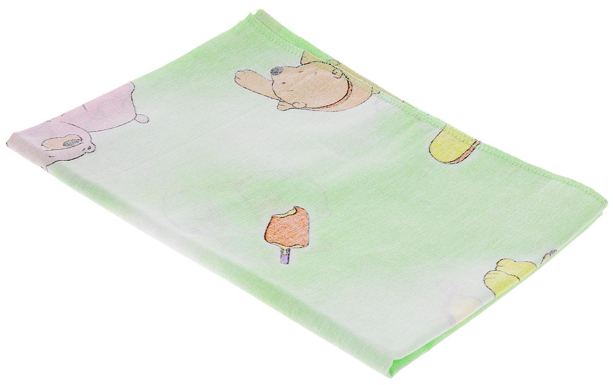 Фея Наволочка детская Мишки и мороженое цвет зеленый 40 см х 60 см0001056-4_мишки, мороженоеДетская наволочка Фея Мишки, идеально подойдет для подушки вашего малыша. Изготовленная из натурального 100% хлопка, она необычайно мягкая и приятная на ощупь. Натуральный материал не раздражает даже самую нежную и чувствительную кожу ребенка, обеспечивая ему наибольший комфорт. Приятный рисунок наволочки, несомненно, понравится малышу и привлечет его внимание. На подушке с такой наволочкой ваша кроха будет спать здоровым и крепким сном. Уход: стирка при 40 °C, гладить при температуре не выше 150 °C, нельзя отбеливать, не подлежит химчистке.