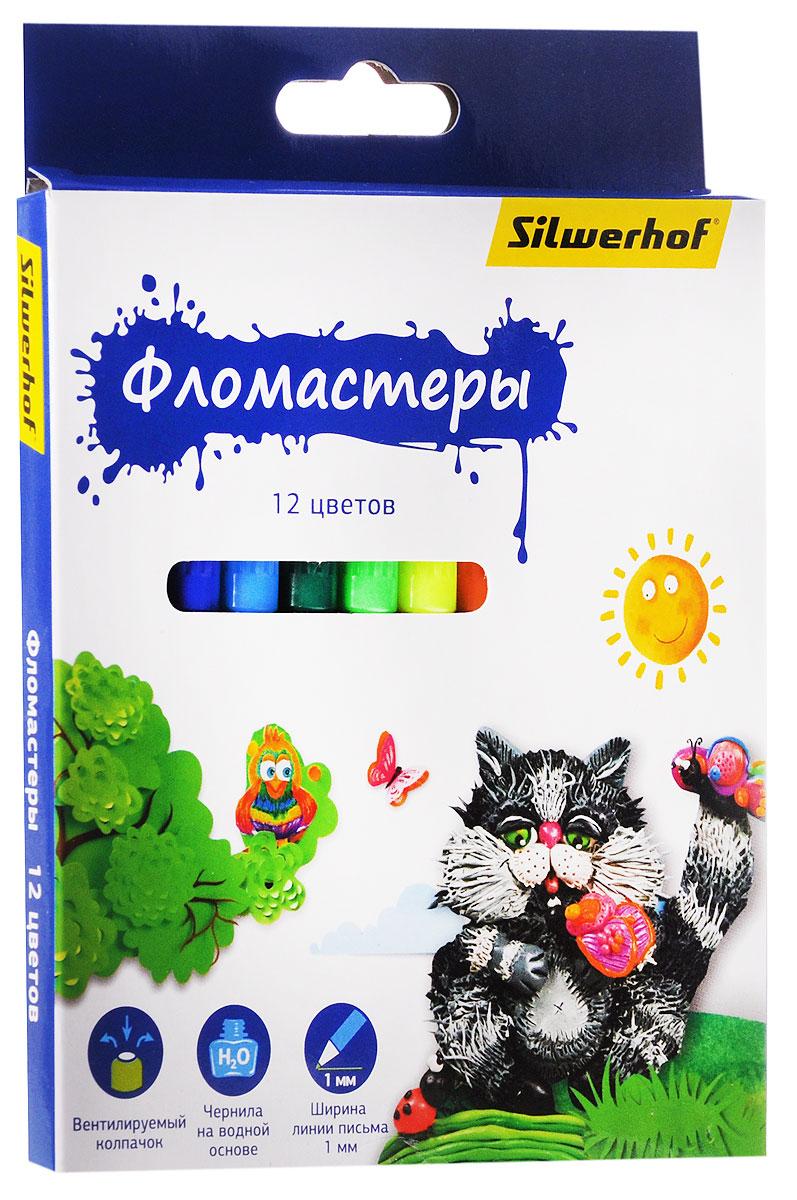 Silwerhof Фломастеры Пластилиновая коллекция 12 цветов867199-12Набор Silwerhof Пластилиновая коллекция - это 12 фломастеров ярких насыщенных цветов в разноцветных пластиковых корпусах (цвет корпуса соответствует цвету чернил). Каждый фломастер оснащен плотным вентилируемым колпачком, защищающим чернила от испарения. Чернила изготовлены на водной основе. Легко отстирываются и смываются с рук. Фломастеры Silwerhof - идеальный инструмент для самовыражения и развития маленького художника!