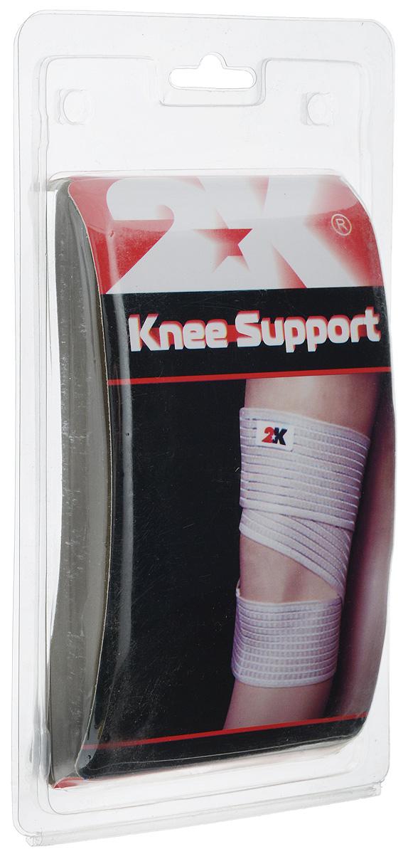 Суппорт колена 2K Sport S-504, цвет: бежевый. Размер М (36-38 см)129012Суппорт колена 2K Sport S-504 рекомендован при всех видах воспалений коленного сустава, растяжениях мышц и связок коленного сустава. Обеспечивает мягкую фиксацию сустава, активное воздействие на проприоцепторы, снятие суставного, связочного и мышечного напряжения, облегчение болевых ощущений. Материал: нейлон 58%, эластан 34%, полиэстер 8%. Обхват колена: 36-38 см.