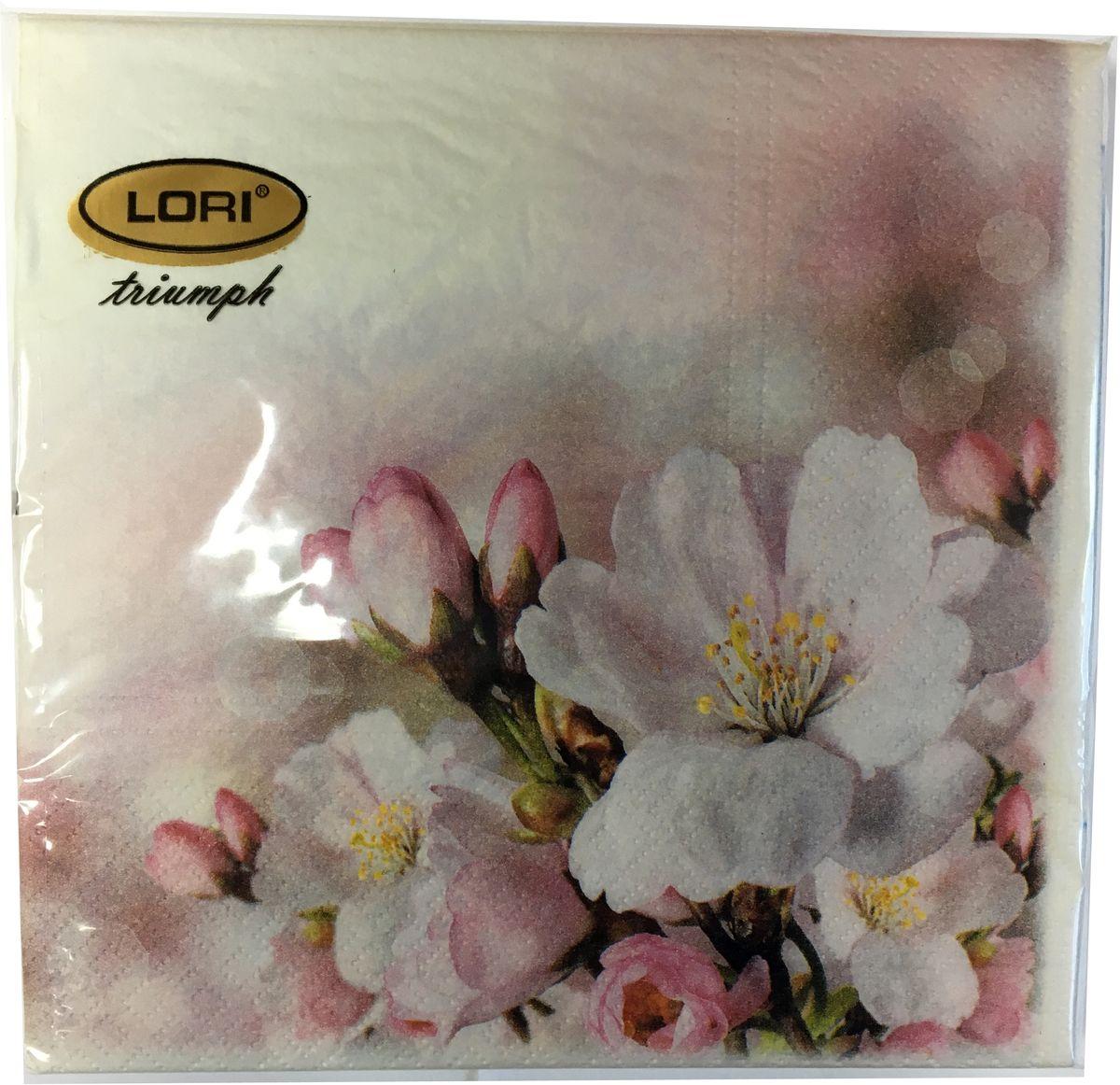 Салфетки бумажные Lori Triumph, трехслойные, цвет: белый, розовый, 33 х 33 см, 30 шт. 56612V30 AC DCДекоративные трехслойные салфетки Lori Triumph выполнены из 100% целлюлозы и оформлены ярким рисунком. Изделия станут отличным дополнением любого праздничного стола. Они отличаются необычной мягкостью, прочностью и оригинальностью.Размер салфеток в развернутом виде: 33 х 33 см.