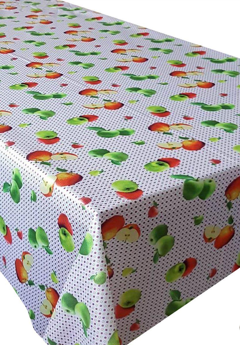 Скатерть Ambesonne Сочные яблоки, прямоугольная, 150 x 220 смBM1516TWINMOR_AКрасочная фотоскатерть Ambesonne Сочные яблоки выполнена из тканевого полиэстера и украшена оригинальным рисунком. Изделие создаст атмосферу уюта и домашнего тепла в интерьере вашей кухни. В современном мире кухня - это не просто помещение для приготовления и приема пищи. Это особое место, где собирается вся семья и царит душевная атмосфера.