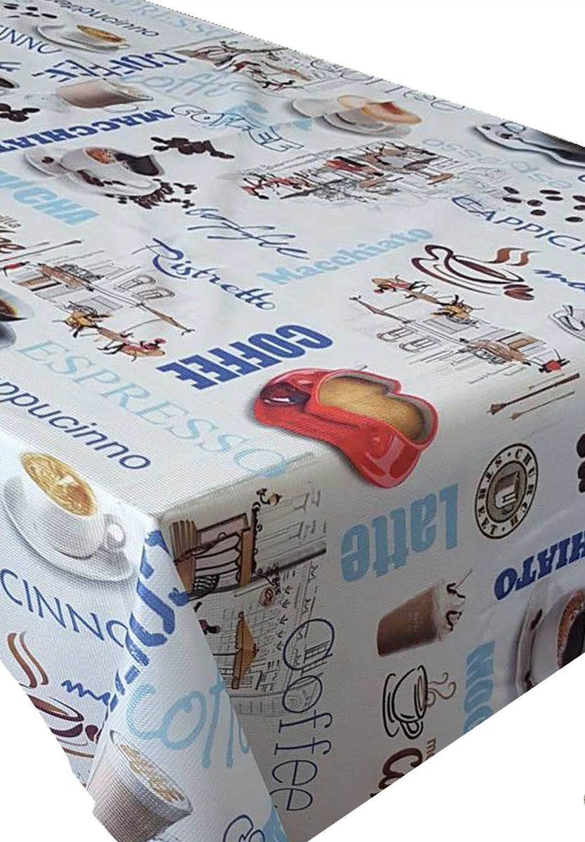 Скатерть Ambesonne Кофе-брейк, квадратная, 150 x 150 смBM1531CAFELANDMAVI_AКрасочная фотоскатерть Ambesonne Кофе-брейк выполнена из тканевого полиэстера и украшена оригинальным рисунком. Изделие создаст атмосферу уюта и домашнего тепла в интерьере вашей кухни. В современном мире кухня - это не просто помещение для приготовления и приема пищи. Это особое место, где собирается вся семья и царит душевная атмосфера.