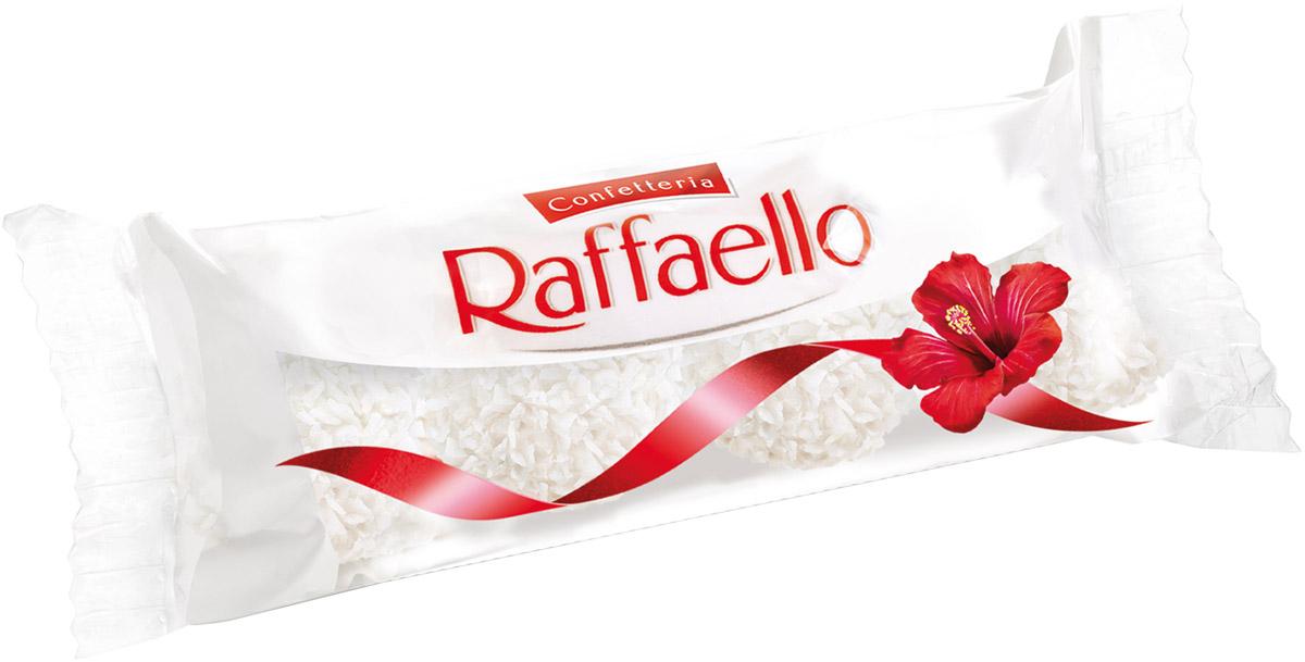 Raffaello конфеты с цельным миндальным орехом в кокосовой обсыпке, 40 г 77115554/77098333/77071201