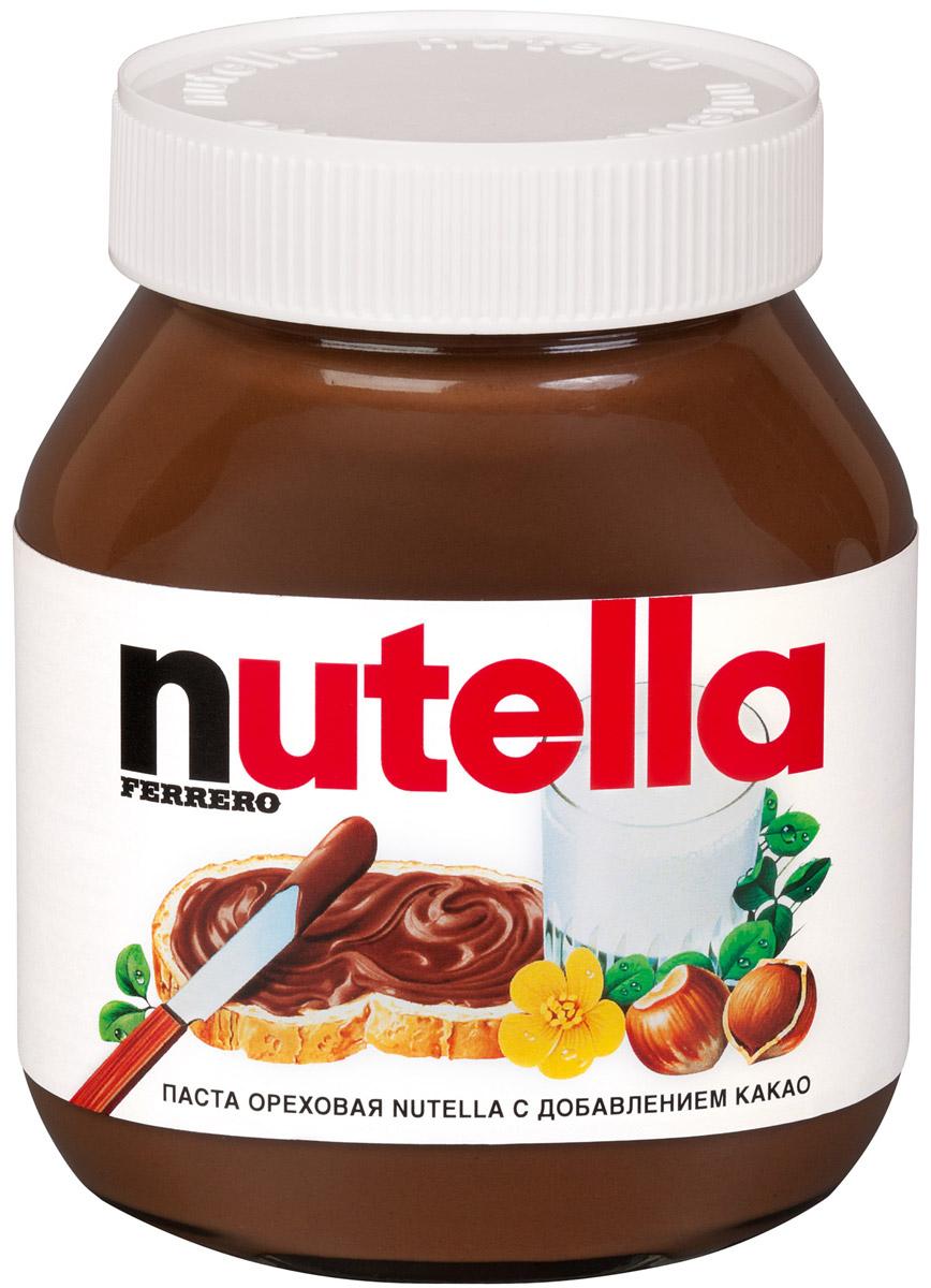 Nutella паста ореховая с добавлением какао, 350 г0120710Nutella обладает неповторимым вкусом лесных орехов и какао, а ее нежная кремовая текстура делает вкус еще интенсивнее. Секрет уникального вкуса в особенном рецепте отборных ингредиентах и тщательном приготовлении. При производстве Nutella не используются консерванты и красители. Сегодня Nutella является одной из самых узнаваемых и любимых марок в мире, продуктом, продажи которого составляют треть годового оборота компании Ferrero. Хороший день начинается с Nutella!Уважаемые клиенты!Обращаем ваше внимание на изменения в дизайне товара.