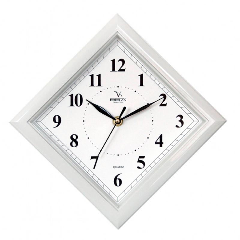 Часы настенные Вега Классика. Ромб в сером, цвет: ромбП3-5-51
