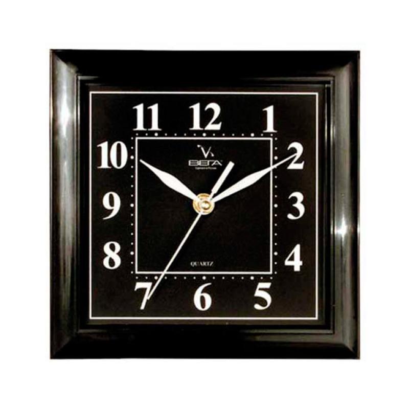 Часы настенные Вега Классика, цвет: черный. П3-6-48П3-6-48
