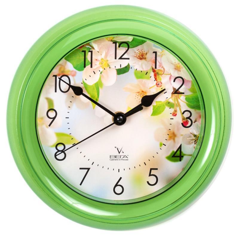 Часы настенные Вега ЯблониП6-3-105