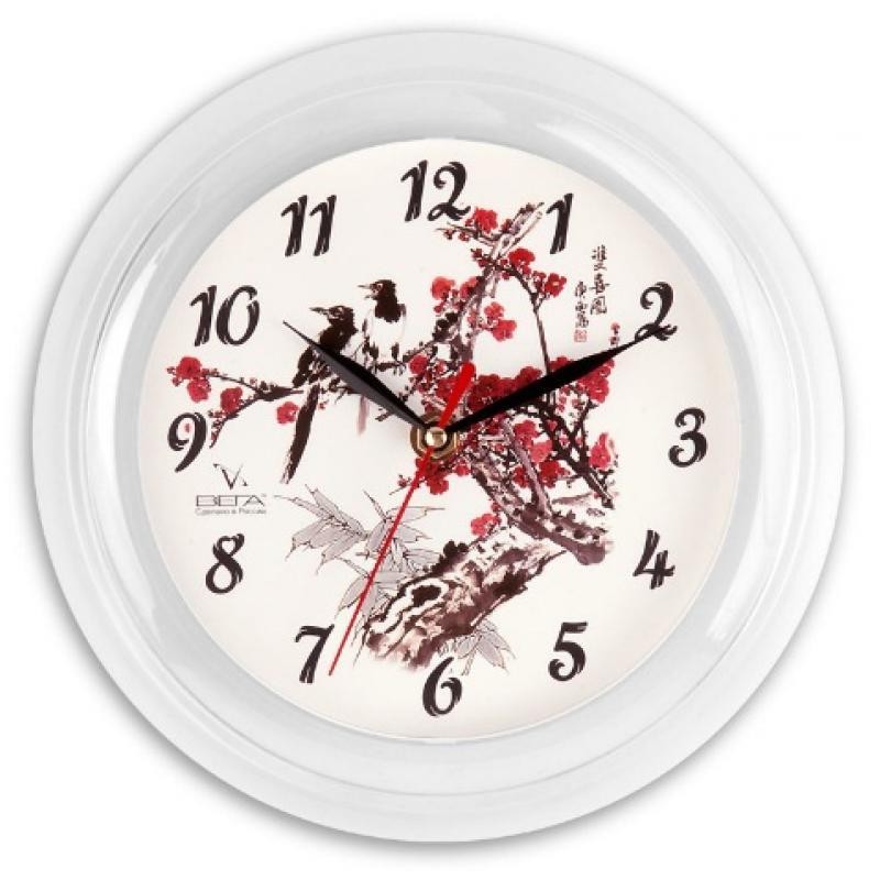 Часы настенные Вега РябинаП6-7-7