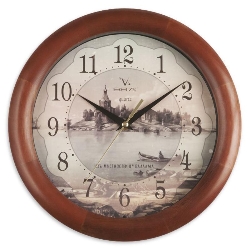 Часы настенные Вега Старый городД1МД/6-138