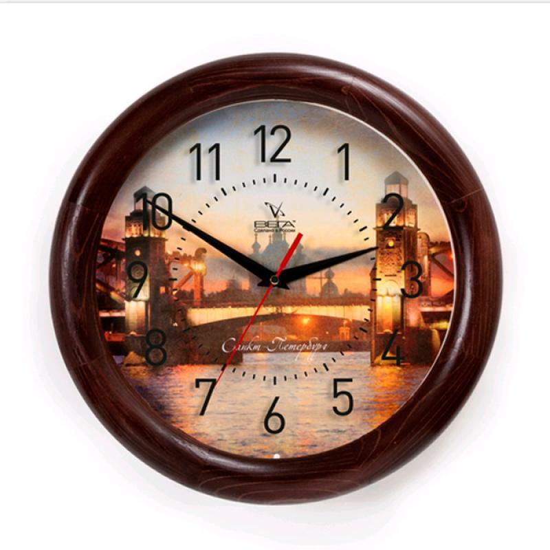 Часы настенные Вега ПитерД1МД/7-236