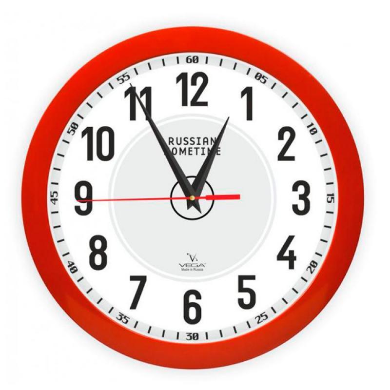 Часы настенные Вега Классика. П1-1/7-273П1-1/7-273