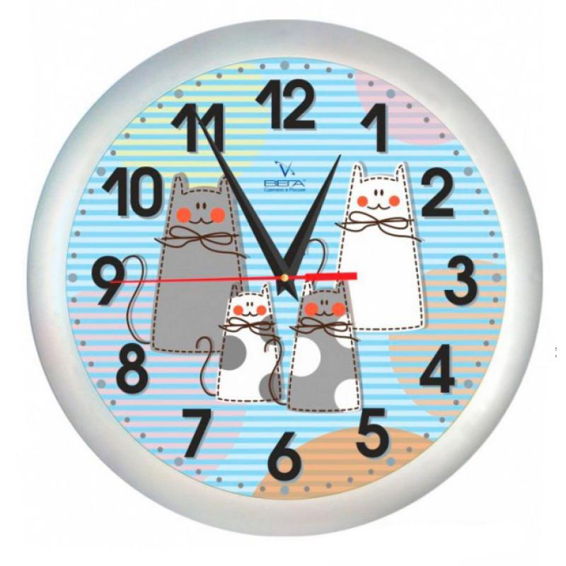 Часы настенные Вега КотыП1-5/7-206