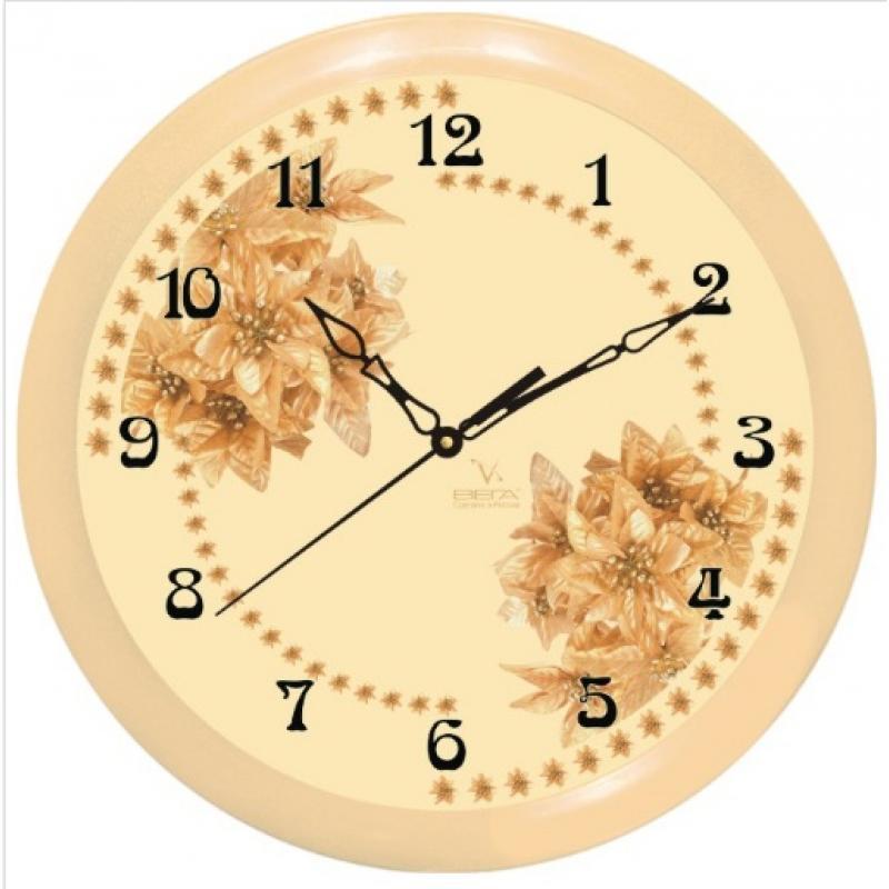 Часы настенные Вега СухоцветFS-91909Оригинальные настенные часы круглой формы Вега Сухоцвет выполнены из пластика. Часы имеют три стрелки - часовую, минутную и секундную. Необычное дизайнерское решение и качество исполнения придутся по вкусу каждому. Оформите свой дом таким интерьерным аксессуаром или преподнесите его в качестве презента друзьям, и они оценят ваш оригинальный вкус и неординарность подарка.Часы работают от 1 батарейки типа АА напряжением 1,5 В (в комплект не входит).