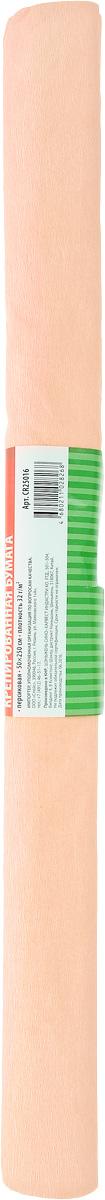Greenwich Line Бумага крепированная цвет персиковый 50 х 250 смCR25016Крепированная бумага Greenwich Line - отличный вариант для воплощения творческих идей не только детей, но и взрослых. Бумага с плотностью 32 г/м2 прекрасно подходит для упаковки хрупких изделий, при оформлении букетов и создании сложных цветовых композиций, для декорирования и других оформительских работ. Насыщенный цвет бумаги сделает поделки по-настоящему яркими. Кроме того, крепированная бумага Greenwich Line поможет увлечь ребенка, развивая интерес к художественному творчеству, эстетический вкус и восприятие, увеличивая желание делать подарки своими руками, воспитывая самостоятельность и аккуратность в работе. Такая бумага поможет вашему ребенку раскрыть свои таланты.