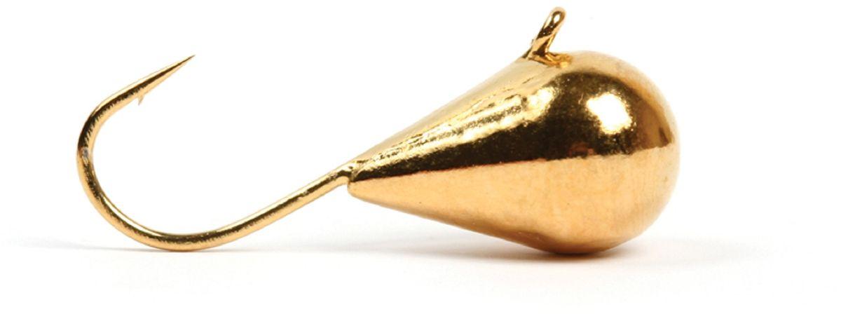 Мормышка вольфрамовая Asseri Капля, с ушком, цвет: золотой, диаметр 4 мм, вес 0,82 г, 5 штCK4 -Go+Зимняя мормышка Asseri Капля используется для ловли не самой активной рыбы. Она небольшого размера, окрашена так, чтобы издалека привлечь рыбу. Обычно на нее надевают какую-нибудь насадку. Каплевидная мормышка лучше покачивается при движении зимней удочки. Мормышка-капелька применяется для безмотыльной ловли рыбы при наклонной подвеске. Привлекает рыбу и при шевелении на дне. Мормышка капля - это отличный выбор для новичка в зимней рыбалке.