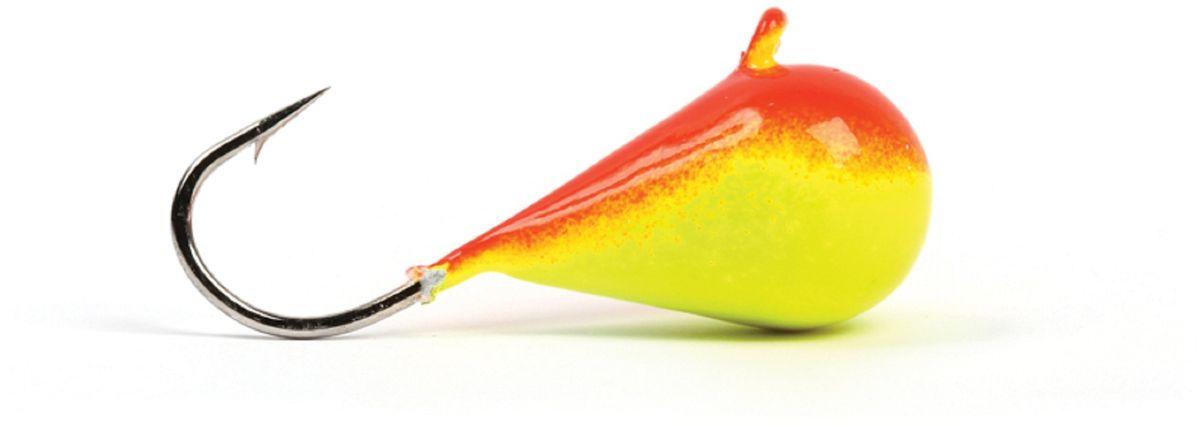 Мормышка вольфрамовая Asseri Капля, с ушком, цвет: красный, желтый, диаметр 5 мм, вес 1,54 г, 5 шт10948Зимняя мормышка Asseri Капля используется для ловли не самой активной рыбы. Она небольшого размера, окрашена так, чтобы издалека привлечь рыбу. Обычно на нее надевают какую-нибудь насадку. Каплевидная мормышка лучше покачивается при движении зимней удочки. Мормышка-капелька применяется для безмотыльной ловли рыбы при наклонной подвеске. Привлекает рыбу и при шевелении на дне. Мормышка капля - это отличный выбор для новичка в зимней рыбалке.