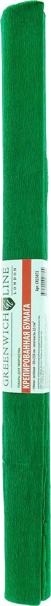 Greenwich Line Бумага крепированная цвет темно-зеленый 50 х 250 см CR25072