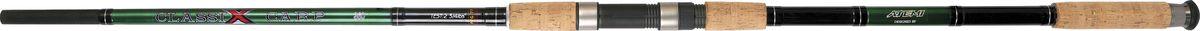 Удилище карповое Atemi CLASSIX Carp, 3,6 м, 2-3/4 IDS95910-961Удилище карповое АТЕМИ CLASSIX Carp 3.6 м Строй этих удилищ из стекловолокна позволяет делать забросы приманки на максимальные расстояния и смягчать рывки рыбы при вываживании.Основные характеристикиНазначение карповое Тест на изгиб 2.75 lb Длина удилища 3.6 м Транспортировочная длина 1.5 м Вес удилища 532 г Конструкция удилища штекерное Количество секций 3 Материал бланка стекловолокно ДополнительноКольца есть Тубус/чехол в комплекте 205-03360Удилище карповое АТЕМИ CLASSIX Carp 3.6 м 2-3/4 IDS