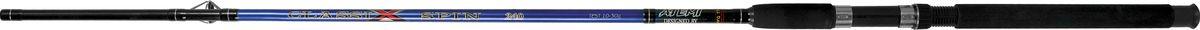 """Удилище спиннинговое штекерное Atemi """"Classix Spin"""", с неопреновой ручкой, 2,1 м, 100-200 г 205-07213"""