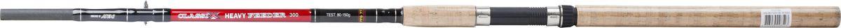 Удилище фидерное Atemi Classix Feeder Heavy, с пробковой ручкой, 3 м, 80-150 г215-01300Фидерное удилище Atemi Classix Feeder Heavy изготовлено из облегченного стекловолокна, благодаря чему оно имеет малый вес. Фидер укомплектован пропускными кольцами с керамическими вставками. Рукоятка изготовлена из пробки. Удилище подходит для широкого круга рыболовов.