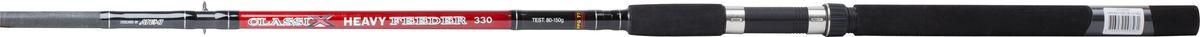 Удилище фидерное Atemi Classix Feeder Heavy, с неопреновой ручкой, 3 м, 80-150 г215-02300Фидерное удилище Atemi Classix Feeder Heavy изготовлено из облегченного стекловолокна, благодаря чему оно имеет малый вес. Фидер укомплектован пропускными кольцами с керамическими вставками. Рукоятка изготовлена из мягкого неопрена. Удилище подходит для широкого круга рыболовов.