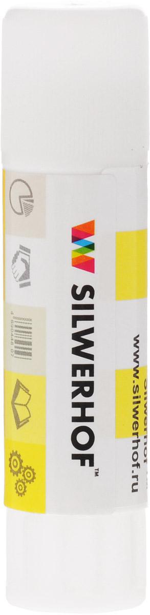 Silwerhof Клей-карандаш 15 гFS-00103Клей-карандаш Silwerhof на PVP-основе идеально подходит для склеивания бумаги, картона и фотографий. Клей-карандаш экологически безопасен, быстро сохнет и не оставляет следов после высыхания. Вес клея: 15 грамм.