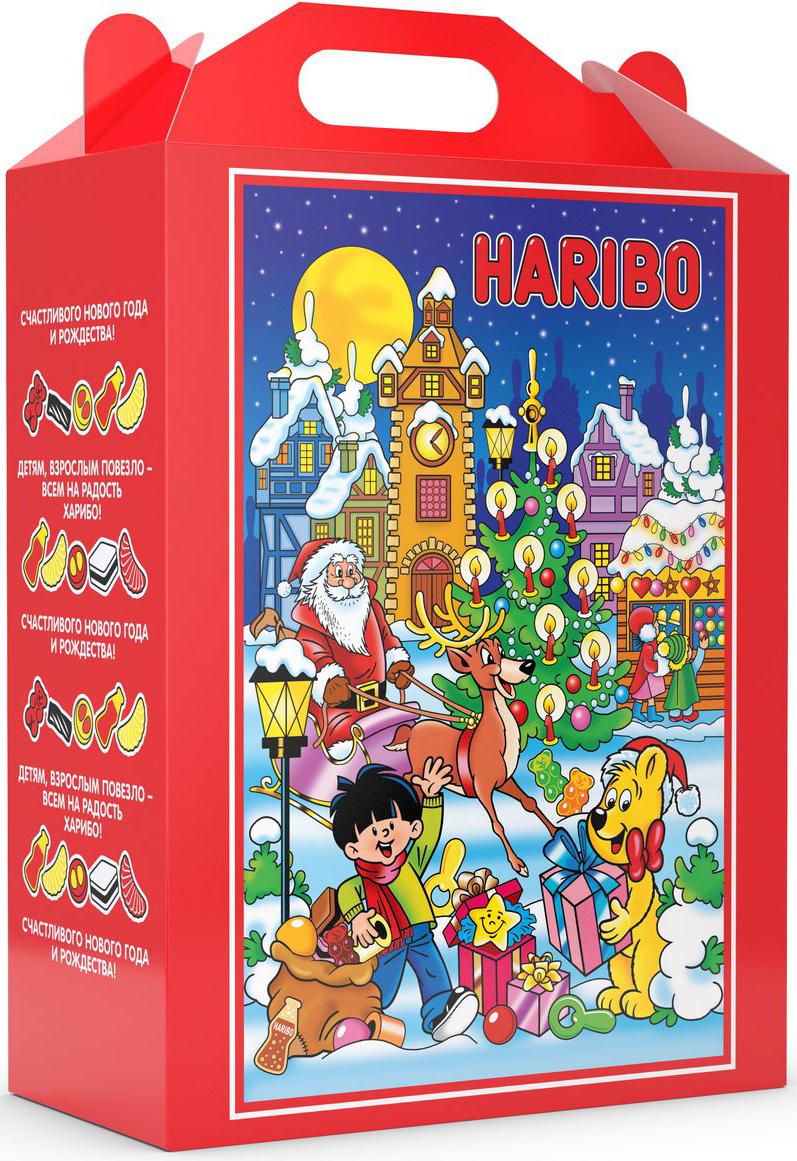 Haribo Сладкий набор Новогодняя Вечеринка, 1965 г0120710Если вы хотите устроить самую лучшую новогоднюю вечеринку, для этого вам понадобится набор сладостей от Haribo! В составе набора Джелли Бин, Парочка, Хэппи Кола, Мао Микс, Совята и Лисички. Хватит на всех!